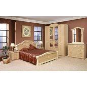 Спальня Мир мебели Венеция 4Д яблоня светлая
