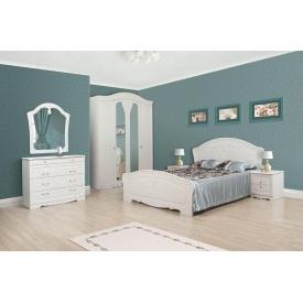 Спальня Мир мебели Луиза белое золото