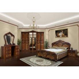 Спальня Мир мебели Кармен новая орех лак
