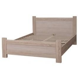 Кровать двухспальная БМФ Меркурий КТ-710 1000х1660х2070 мм акация