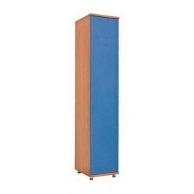 Шкаф БМФ Геометрия Ш-1443 1910х400х530 мм для белья синий