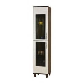 Шкаф БМФ Спектр ШК-328 400х1900х430 мм для книг светлый венге