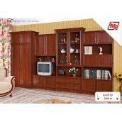 Стенка для гостиной БМФ Оскар 3600х2060х520 мм орех Артемида