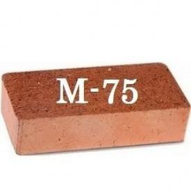 Кирпич рядовой керамический М-75
