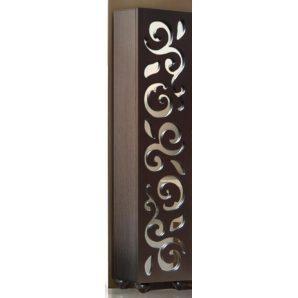 Шкаф Мастер Форм Сага 404х1870х375 мм венге темный/дуб молочный