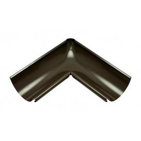 Внутрішній кут жолоба Акведук Преміум 90 градусів 125 мм темно-коричневий RAL 8019