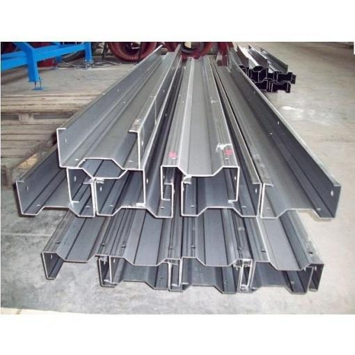 Швелер алюминиевый 100х50х5,0мм, (1м/2м), серебро | Alumpro.com.ua | 510x510
