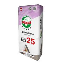 Шпаклевка Anserglob ВСТ 25 15 кг белый