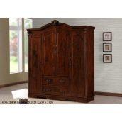 Шкаф для гардероба ONDER MEBLI 4D+2DRW 1823х530х2120 мм орех