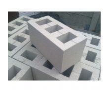 Шлакоблок вібропресований ALEX Group 200х200х400 мм сірий