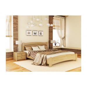 Кровать Эстелла Венеция Люкс 102 2000x1600 мм массив