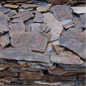 Тротуарный камень ALEX Group Закарпатский андезит 5 см синяк-серый