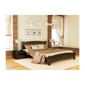 Кровать Эстелла Венеция Люкс 106 2000x1400 мм массив