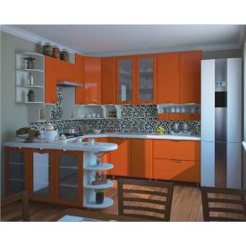 Кухня СОКМЕ Софія Люкс 2,6 м без стільниці оранж