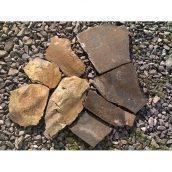 Тротуарний камінь ALEX Group Закарпатський андезит 5 см шоколадно-коричневий