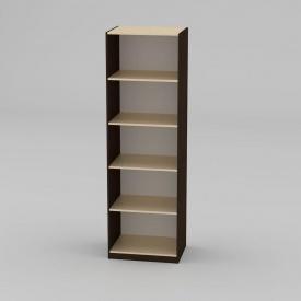 Книжкова шафа Компанит КШ-1 1950x612x448 мм венге