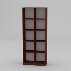 Книжкова шафа Компанит КШ-2 2056x836x360 мм яблуня