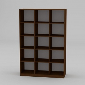Книжкова шафа Компанит КШ-3 1950x1300x448 мм яблуня