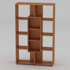 Книжный шкаф Компанит КШ-4 1796x1100x350 мм бук