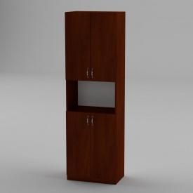 Книжкова шафа Компанит КШ-5 1950x600x366 мм яблуня