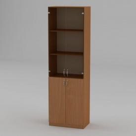 Книжкова шафа Компанит КШ-6 1950x600x366 мм бук