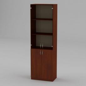 Книжкова шафа Компанит КШ-6 1950x600x366 мм яблуня