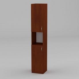 Книжный шкаф Компанит КШ-10 1950x366x350 мм яблоня