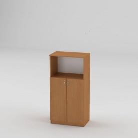 Книжкова шафа Компанит КШ-15 1200x604x370 мм дуб бук