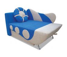 Детский диван Вика Кораблик 80 раскладной 87x145 см