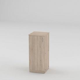 Книжный шкаф Компанит КШ-18 841x370x354 мм дуб сонома