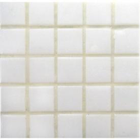 Мозаика VIVACER FA 59 для ванной комнаты на бумаге 32,7x32,7 cм белая