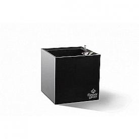 Розумний вазон Cubico Flower Lover чорний 5,6 л