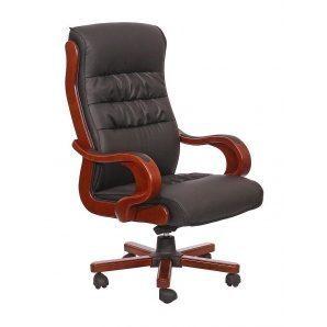 Кресло AMF Президент 02 PU черный 71x78x120 см