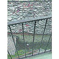 Сітка декоративна TENAX Ексагон 1х5 м срібна