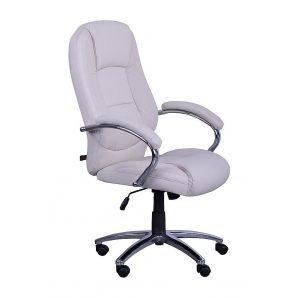 Кресло AMF Надир НВ PU бежевый 67x66x109 см хром