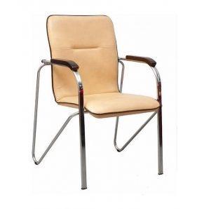 Офисный стул AMF Самба Софт Неаполь N-17 610х615х890 мм хром