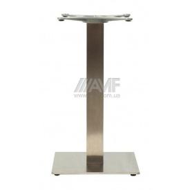 База для столу AMF Афіна 720x400x400 мм нержавейка