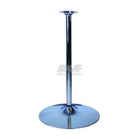 База для столу AMF Кристал хай 960x600 мм хром
