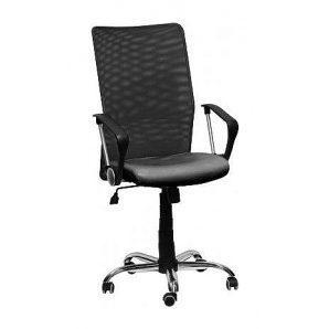 Офисное кресло AMF Аэро HB Line сиденье Сетка Неаполь N-20/спинка Сетка черная 650х650х1170 мм