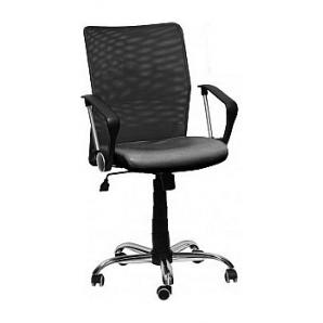 Офисное кресло AMF Аэро LB Line сиденье Сетка черная/спинка Сетка черная 650х650х1070 мм