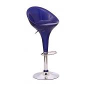 Барний стілець AMF SX-1226 синій 400х470х800 мм