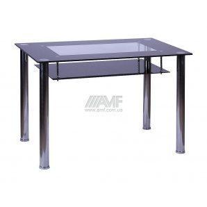 Стол обеденный AMF Либеро 1100x700x750 мм черный