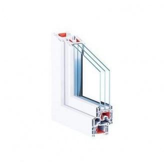Окно металлопластиковое KBE 76 MD