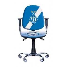 Детское кресло AMF Футбол Люкс Динамо 1 640x640x875 мм синий