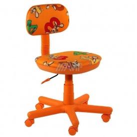 Дитяче крісло AMF Світі Зайці помаранчеві 600x600x700 мм помаранчевий