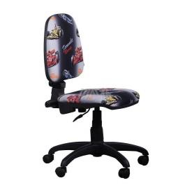 Детское кресло AMF Пул Машинки 640x640x900 мм черный