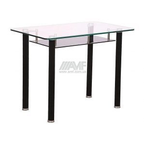 Стол обеденный AMF B 224 1000x620x750 мм черный
