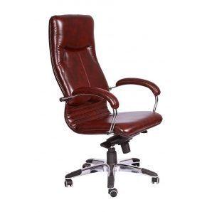 Кресло AMF Ника HB Мадрас фирензе 64x69x125 см хром