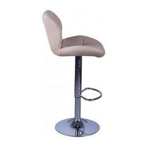 Барный стул AMF Венсан к/з бежевый (FT-902A) 430х480х1070 мм