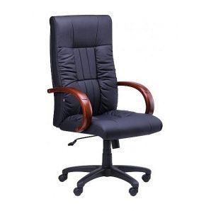 Кресло AMF Консул НВ PU черный 64x69x112 см